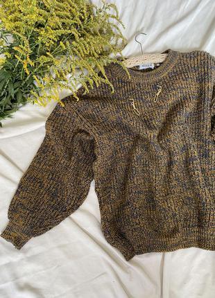 Шикарный объемный свитер