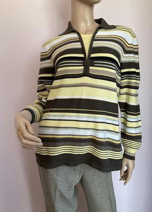 Немецкая блузка в полоску/l-xl/brend rabe