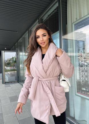 Куртка женская демисезонная куртка базовая