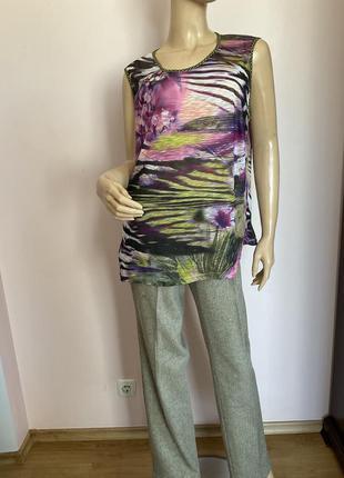Фирменная блузка под жакет и не только /46/brend atelier