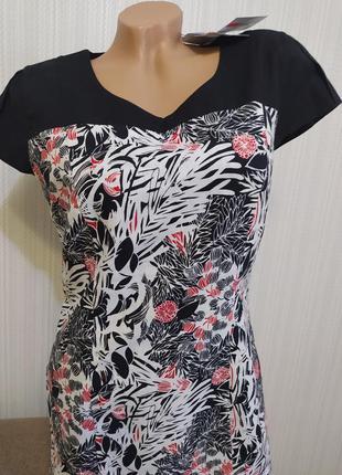 Красивое льняное платье charles voegele