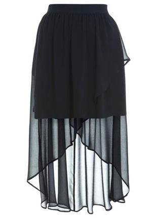 Ассиметричная юбка со шлейфом miss selfridge