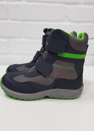 Зимові черевики зимние ботинки geox j n.alaska b.b wpf e j847pe
