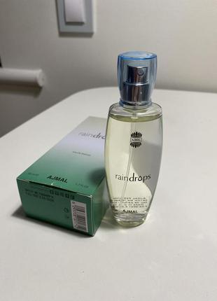 Ajmal raindrops парфюмированная вода в стиле coco chanel mademoiselle и chanel chance