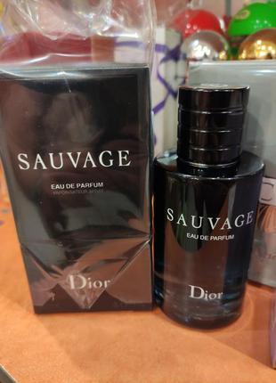 Парфюмированная вода dior sauvage
