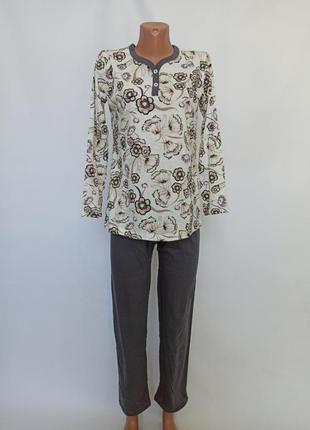 Піжама жіноча бавовняна костюм узбецький трикотаж