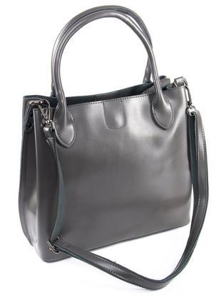 Женская кожаная сумка жіноча шкіряна сумочка
