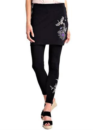 Desigual leggings леггинсы лосины с юбкой /5505/