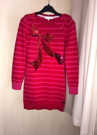 Бавовняна яскрава сукня на вік 9-10 років