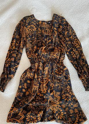 Новое платье zara тренд сезона боххо
