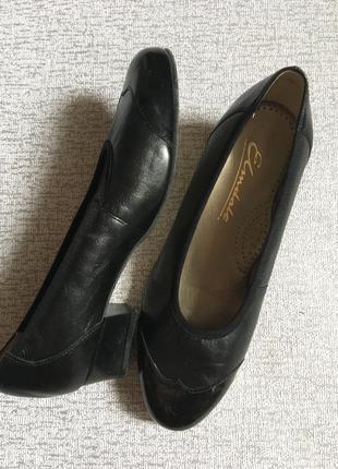 Туфли кожанные женские elmdale - 39р.