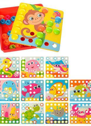 Детская развивающая мозаика sk 0003, 35 фишек ( 0003b)