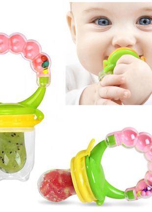 Ниблер силиконовый детский мальчику девочке разные цвета