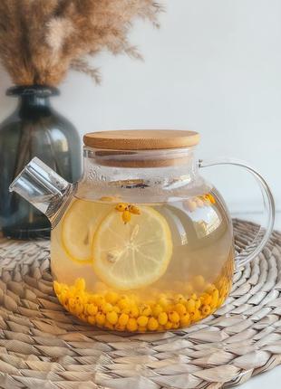 Заварочный чайник для чая, 1 литр
