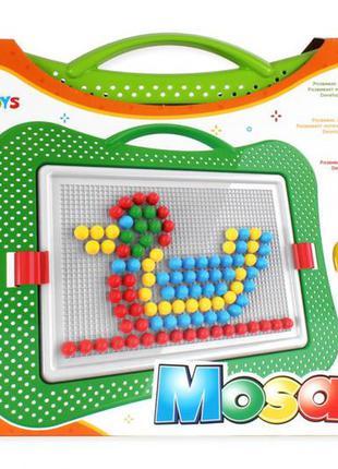 Детская развивающая мозаика №5 3374txk, 240 фишек в наборе
