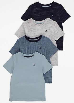 Хлопковые футболки george на 6-7 лет