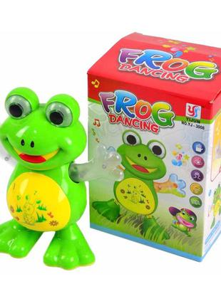 Игрушечная музыкальная жабка yj-3008 со светом