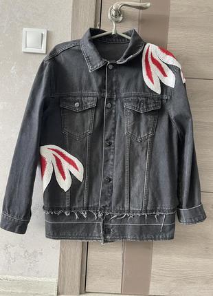 Джинсовая курточка off-white
