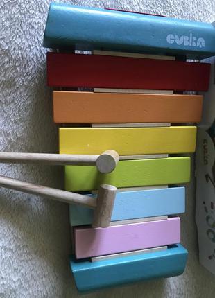 Деревянный ксилофон cubika