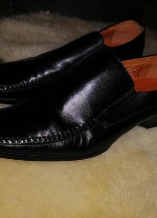 Мужские кожаные туфли 44 размер ftni enricofantini