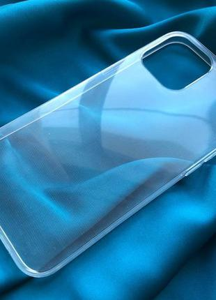 Новое! чехол прозрачный на iphone 12 pro max силиконовый