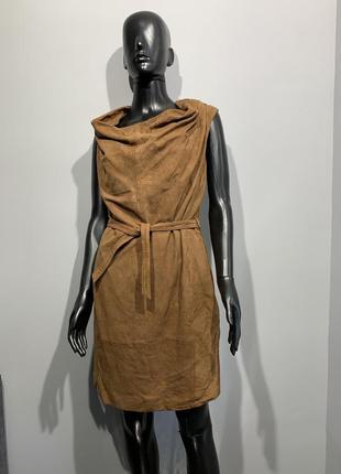 Замшевое платье goosecraft размер s/m