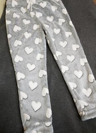 Плюшевые,штаны,низ,пижамы.теплые,модные,уютные.