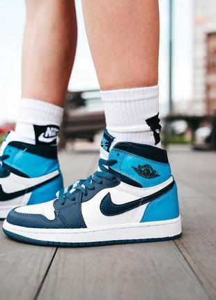 "Nike air jordan 1 retro ""obsidian"""