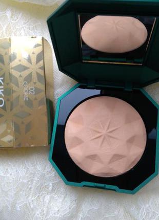 Запеченная матирующая пудра holiday gems precious matte powder 02 kiko milano