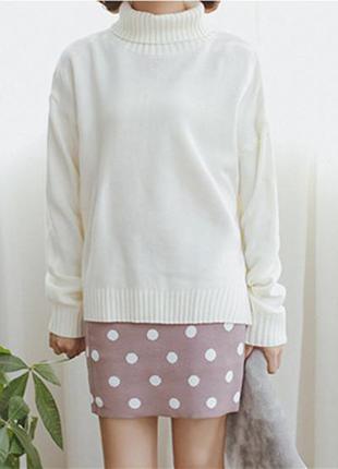 Отличный свитер цвета слоновая кость