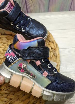 Ботинки на флисе черевики на флісі 27-32