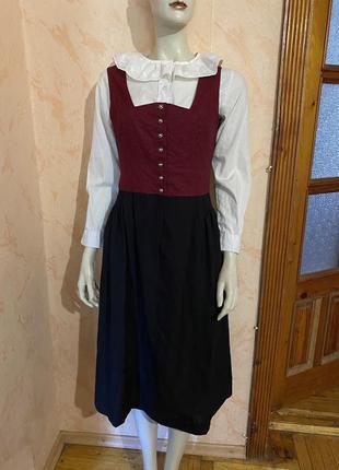 Винтажное ретро платье + блуза