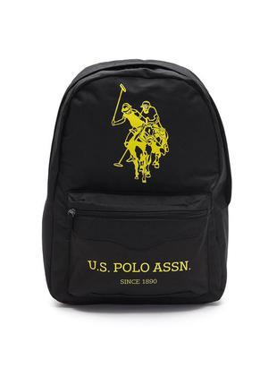 Рюкзак черный u.s. polo