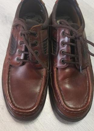 Туфли, ботинки, топсайдеры, кожа