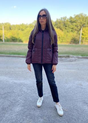 Женская демисезонная осенняя куртка от производителя по скидке! распродажа. осень 2021