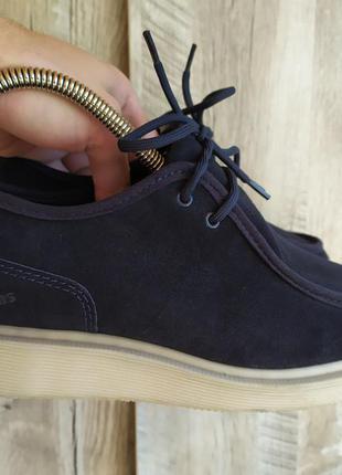 Замшевые туфли  dr. martens leverton