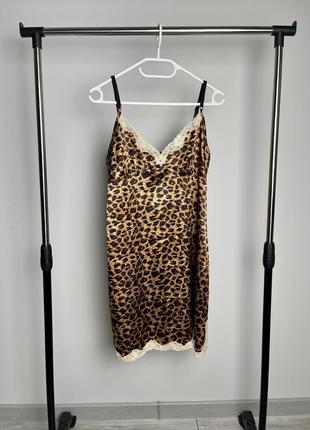 Красивый пеньюар в леопардовым принте limited collection
