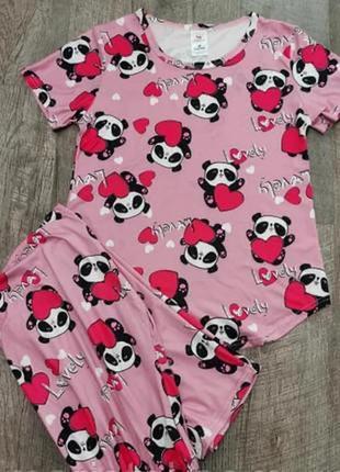 Пижама пижамный комплект шорты футболка