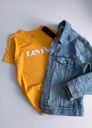 🐥женская футболка levis 🐥