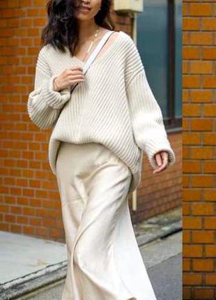 Шелковая юбка миди шовкова спідниця міді