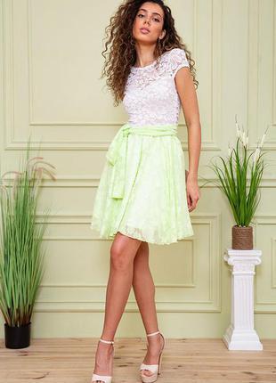 Платье цвет салатовый 167r893 59446