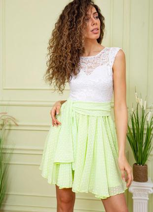 Платье цвет салатовый 167r885 59417