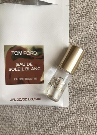 Миниатюра духов tom ford - eau de soleil blanc