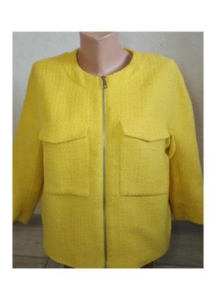 Актуальный жакет, пиджак, с карманами, яркий, на молнию, накидка, стильная, модное, стильная