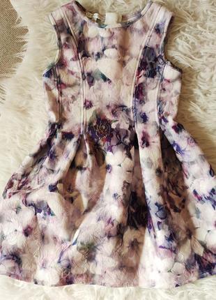 Шикарное платье на девочку 110 5 лет john rocha