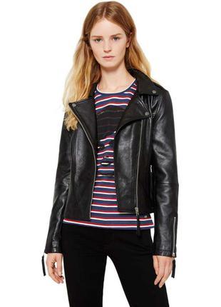 Свіжа колекція.косуха шкіра люкс бренду pepe jeans  bette leather jacket  оригінал