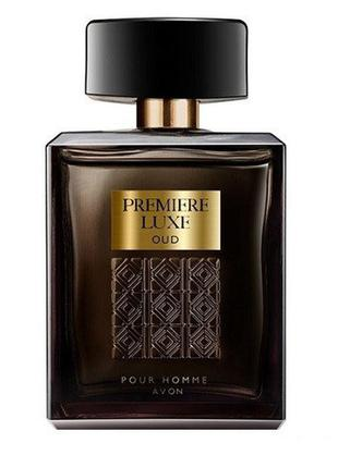Парфюмерная вода premiere luxe oud avon для мужчин 75 мл