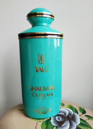 Guerlain shalimar 100 gr тальк парфюм( остаток 70%)