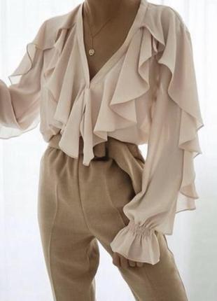 Шикарная блуза от зара