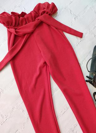 Шикарные брюки лосины высокая посадка